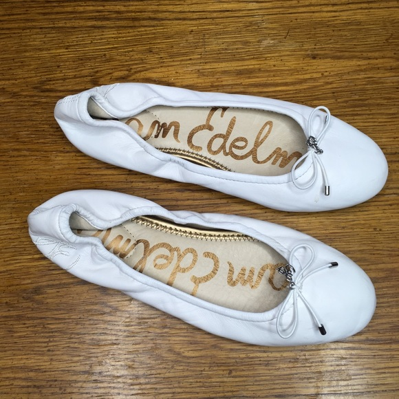 Sam Edelman Shoes - Sam Edelman Felicia Leather Ballet Flats Sz 8.5